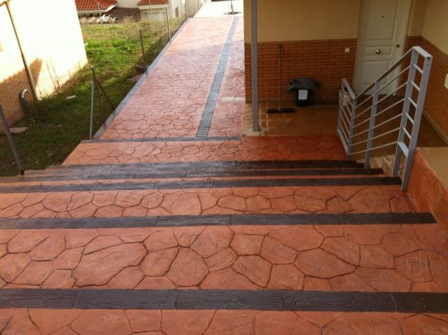Hormig n impreso salamanca precios m2 por pavimentos for Hormigon impreso precio m2 leon