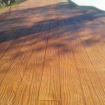 madera suelo impreso
